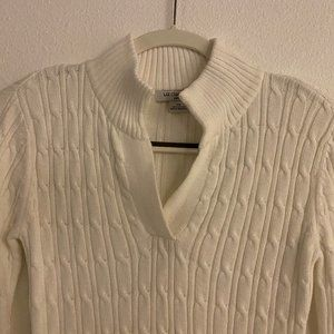 Liz Claiborne Cable Knit Sweater - PS